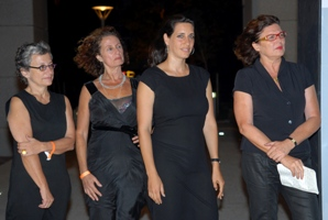 Shifra Shalit Intrator, Yehudit Haviv, Irit Fein-Sommer, Rivka Saker