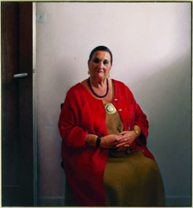 Portrait of Bianca Eshel Gershuni, 2007-2006, private collection, Herzliya