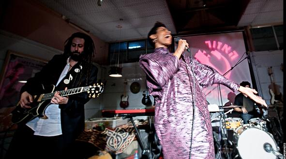 Ester Rada & band/Photo: Muperphoto