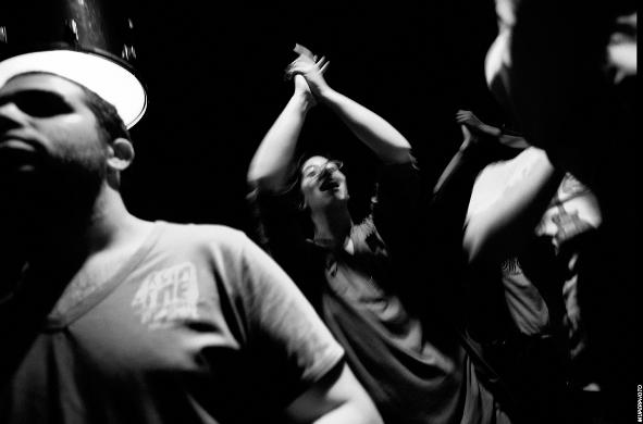 Audience dancing to Ester Rada at The Zone, Tel Aviv/Photo: Muperphoto