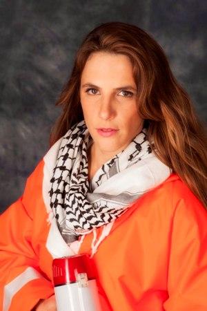 Sivan Krechner in My Name is Rachel Corrie/Photo: Gerard Allon