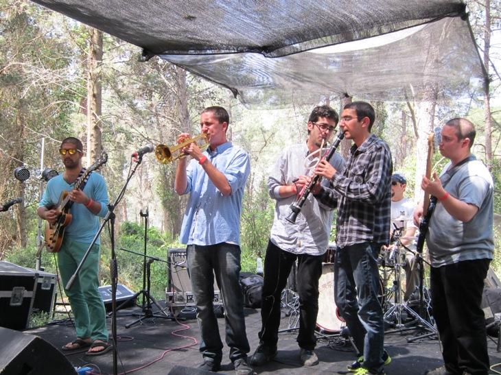 Ronen Shmueli & Rimon Jazz Institute ensemble jazz it up/Photo: Ayelet Dekel