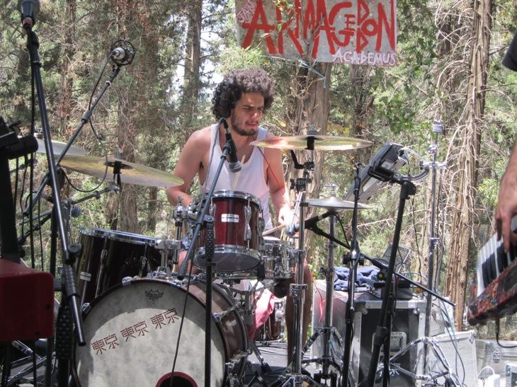 Amir Bresler on drums/Photo: Ayelet Dekel