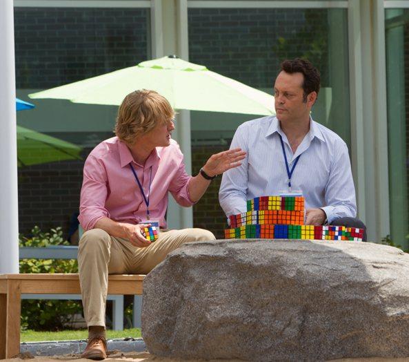Owen Wilson and Vince Vaughn in The Internship