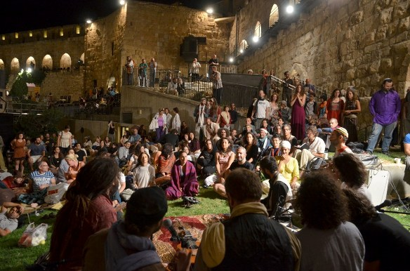 Night Stroll at the Tower of David Museum