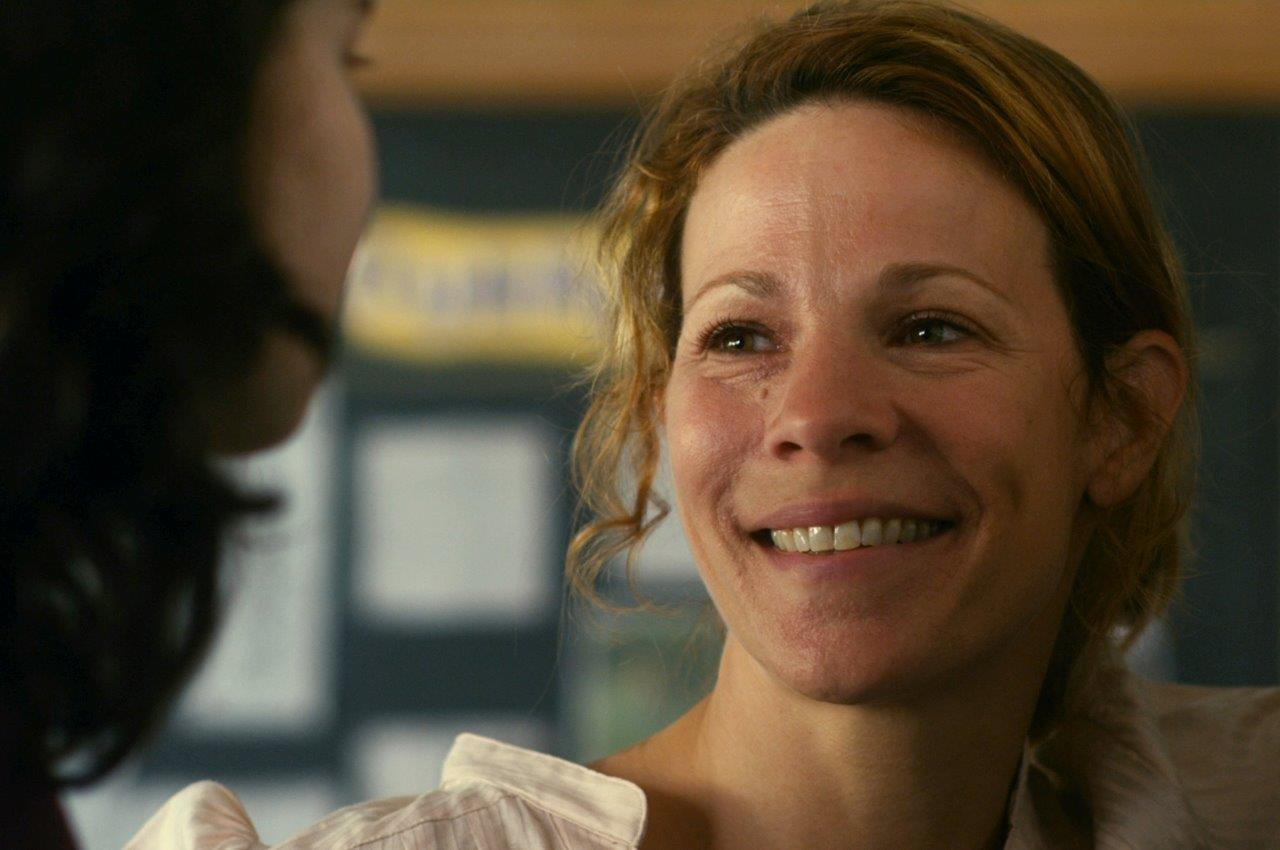 Lili Taylor as a warm and supportive science teacher in Future Weather