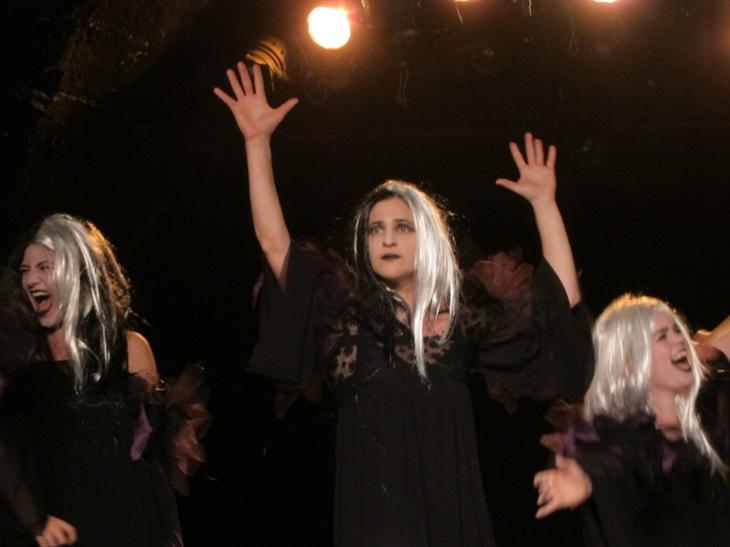 Shakespeare's Witches - The Academy of Peforming Arts/Photo: Ayelet Dekel