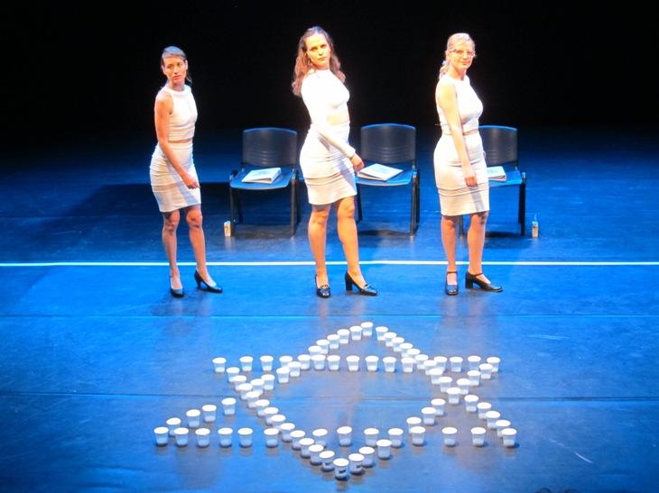 Alit Kriez, Efrat Arnon and Natalie Zuckerman in Daphna Silberg's Torat Hazera