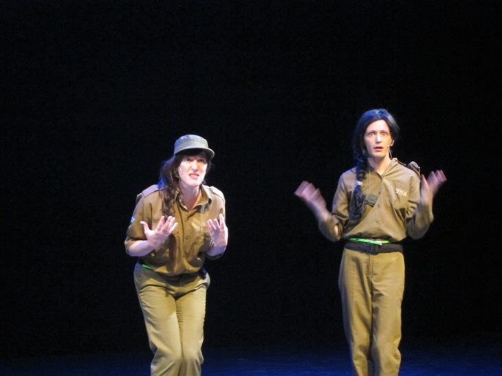 Jana (Adili Liberman) and Jenny (Nadav Bossem) - Girls in Arms