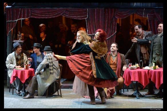 La Bohème - Alla Vasilevitsky as Musetta/Photo: Yossi Zwecker