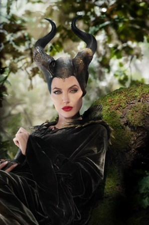 Maleficent - the bold black sculptured lines of evil incarnate/Photo courtesy of PR