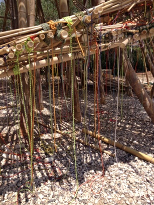 Big Bambú at the Israel Museum/Photo: Akin Ajayi
