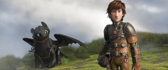 Hiccup and Toothless  - How To Train Your Dragon II