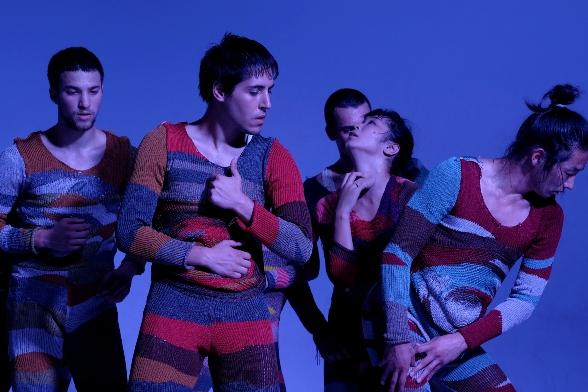 Wallflower - Gil Shachar, Avidan Ben Giat, Mayumu Mikanawa, Mirai Moriyama, front; Tom Weksler, rear/Photo: Daniel Tchetchik