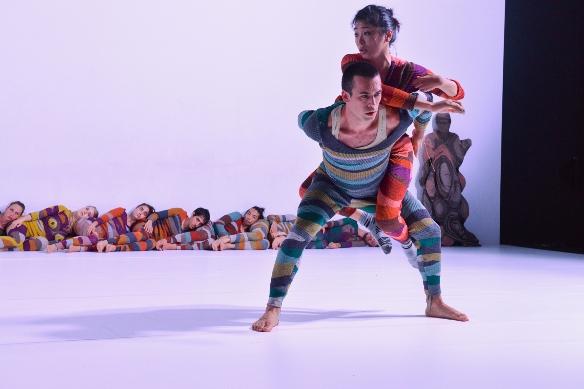 Wallflower - Mayumu Minakawa and Tom Weksler, front/Photo: Rotem Mizrahi