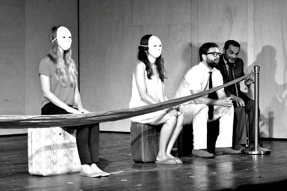 Gesher Theatre: Terrorism/Photo: Sergei Demanchuk