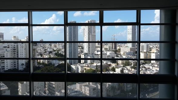 Cityscape with impaired vision/Photo: Ayelet Dekel