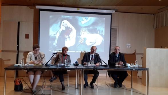 Ms. Monika Iwersen, Ms. Suzanne Landau, Prof. Gereon Sievernich, Mr. Raphael Gamzou/Photo: Ayelet Dekel