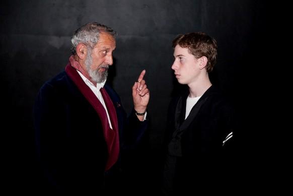 David Glickman and Coren Feldman in The Winslow Boy/Photo: Brian Negin