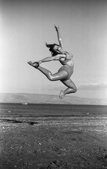 Lili Marian, dancer, Kibbutz Ein Gev/Photo: Naftali Oppenheim, courtesy of PR