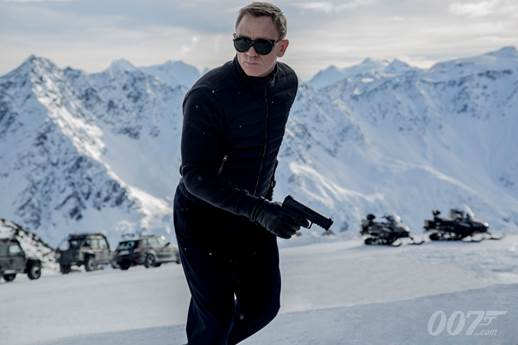 Daniel Craig as James Bond in Spectre/Photo courtesy of PR
