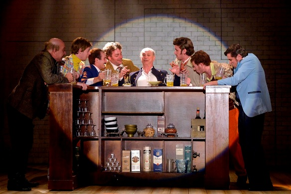 Male bonding at the Garter Pub - The Merry Wives of Windsor/Photo: Yossi Zwecker