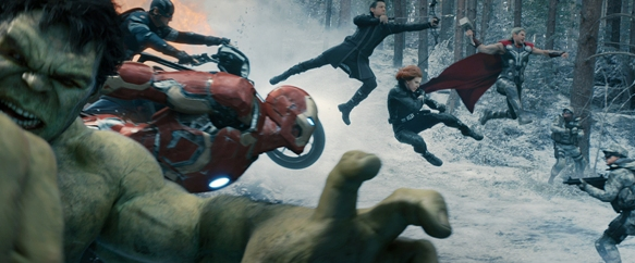 Avengers: Age Of Ultron ©Marvel 2015 Photo courtesy of PR