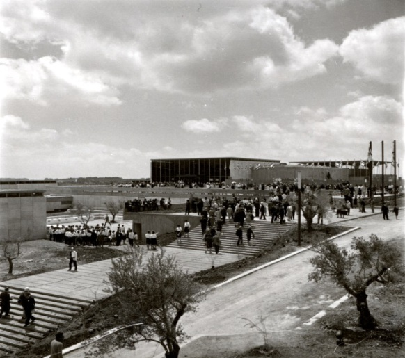 The Israel Museum, Jerusalem, circa 1965. Photo: Estate of Rolf Kneller