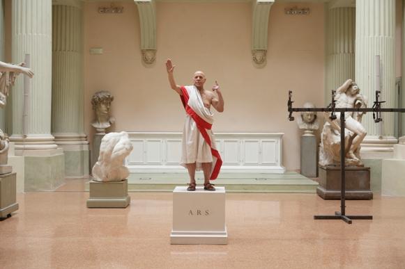 Romeo Castellucci's Julius Caesar/Photo: Luca Del Pia