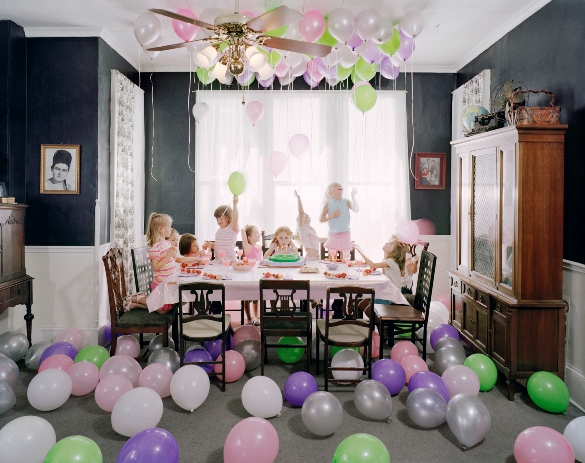 Angela Strassheim, Untitled (Savannah's Birthday Party), 2006, C-print, 40 X 50""