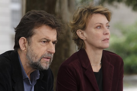 Nanni Moretti and Margherita Buy in Mia Madre/Photo courtesy of PR