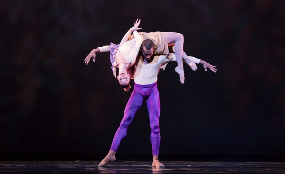 Chrystyn Fentroy and Fredrick Davis/Photo by Amitava Sarkar
