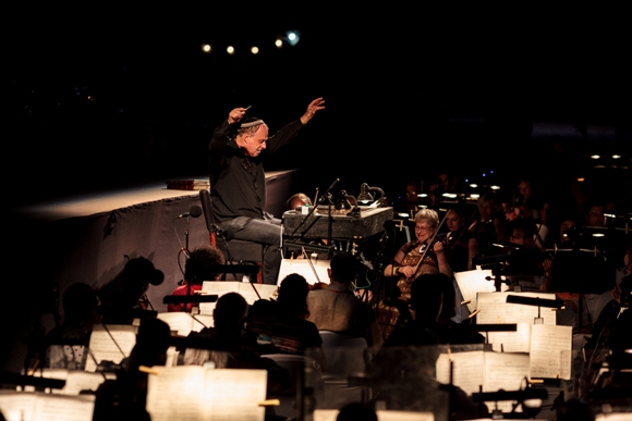 Daniel Oren - general rehearsal for Tosca at Masada/Photo: Muperphoto