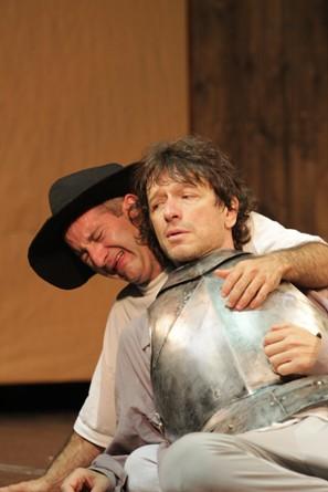 Alexander Senderovich and Israel (Sasha) Demidov in I, Don Quixote/Photo: Victor Sokolov