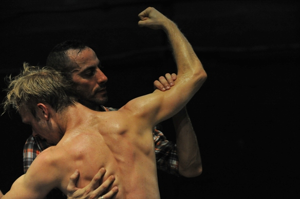 Oren Laor and Joel Bray in Cowboy/Photo: Gadi Dagon