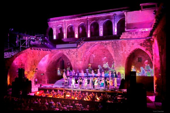 Don Giovanni in the Old City of Akko/Photo: Yossi Zwecker