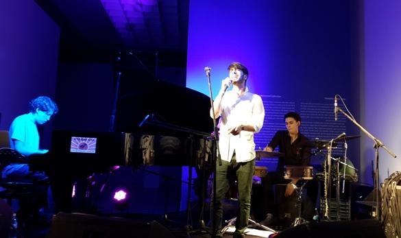 Liron Amram - vocals, Noam Havkin - piano, Maayan Doari - percussion/Photo: Ayelet Dekel