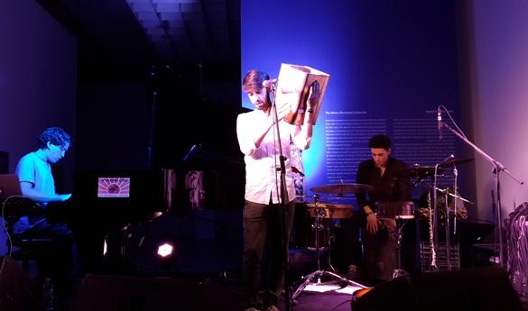 Liron Amram - tin drum, Noam Havkin - piano, Maayan Doari - percussion/Photo: Ayelet Dekel