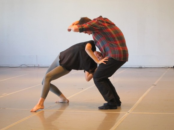 And Still by Danielle Agaimi - press presentation in the rehearsal studio/Photo: Ayelet Dekel
