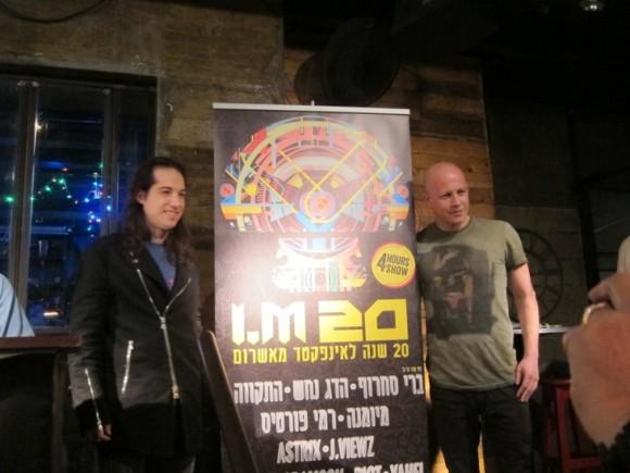Infected Mushroom: Erez Eisen and Amit Duvdevani/Photo: Ayelet Dekel