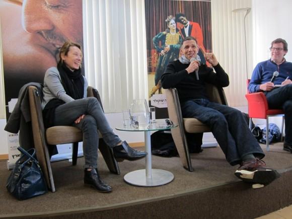 Emmanuelle Bercot and Roschdy Zem/Photo: Ayelet Dekel