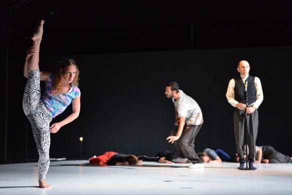 Slug in rehearsal/Photo: Rotem Mizrahi