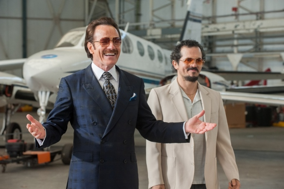 The Infiltrator - Robert Mazur and Emir Abreu undercover/Photo courtesy of PR