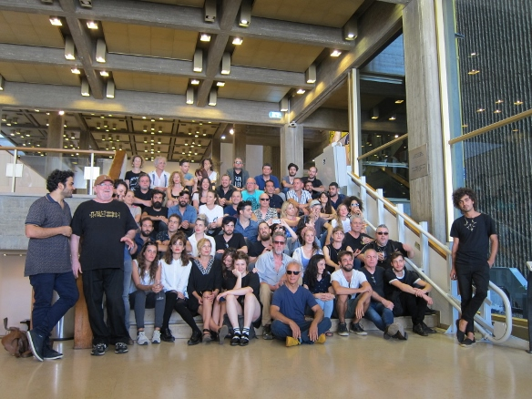 18th Piano Festival - the gang's all here!/Photo: Ayelet Dekel