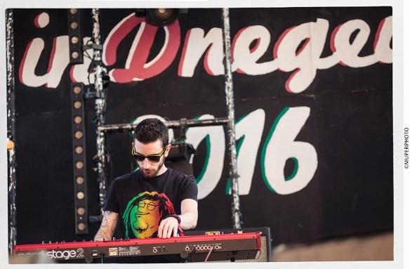 Lior Romano - Zvuloon Dub System - InDNegev 2016/Photo: MUPERPHOTO